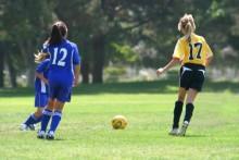 Soccer is the highest risk sport for school-age girls.
